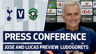 PRESS CONFERENCE | JOSE MOURINHO AND LUCAS MOURA PREVIEW LUDOGORETS