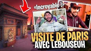 Hallucinant ! Visite de Paris avec Lebouseuh sur Fortnite Créatif...