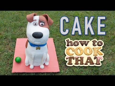 3D Dog Cake, How To Cook That Ann Reardon Dog shaped cake