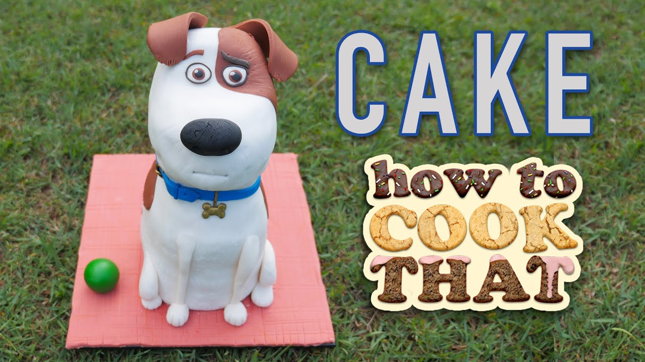 The Secret Life Of Pets Dog Cake Max How To Cook That Ann Reardon