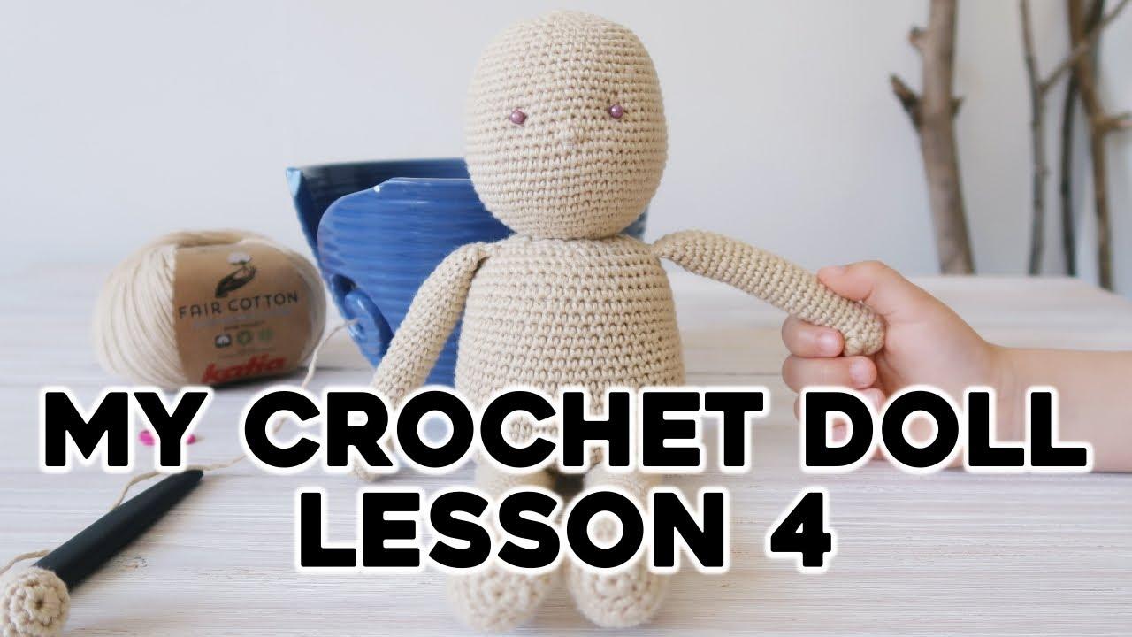 Amigurumi Doll Girl Crochet Free Patterns - Crochet & Knitting | 720x1280