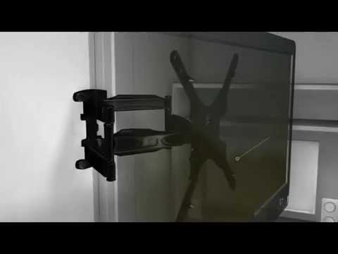 Como instalar soporte para tv sp 5 youtube - Soporte pared tv sin tornillos ...