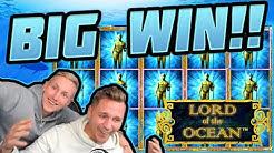 MEGA WIN!!!! Lord Of the Ocean BIG WIN - HUGE WIN on Novomatic slot from CasinoDaddy