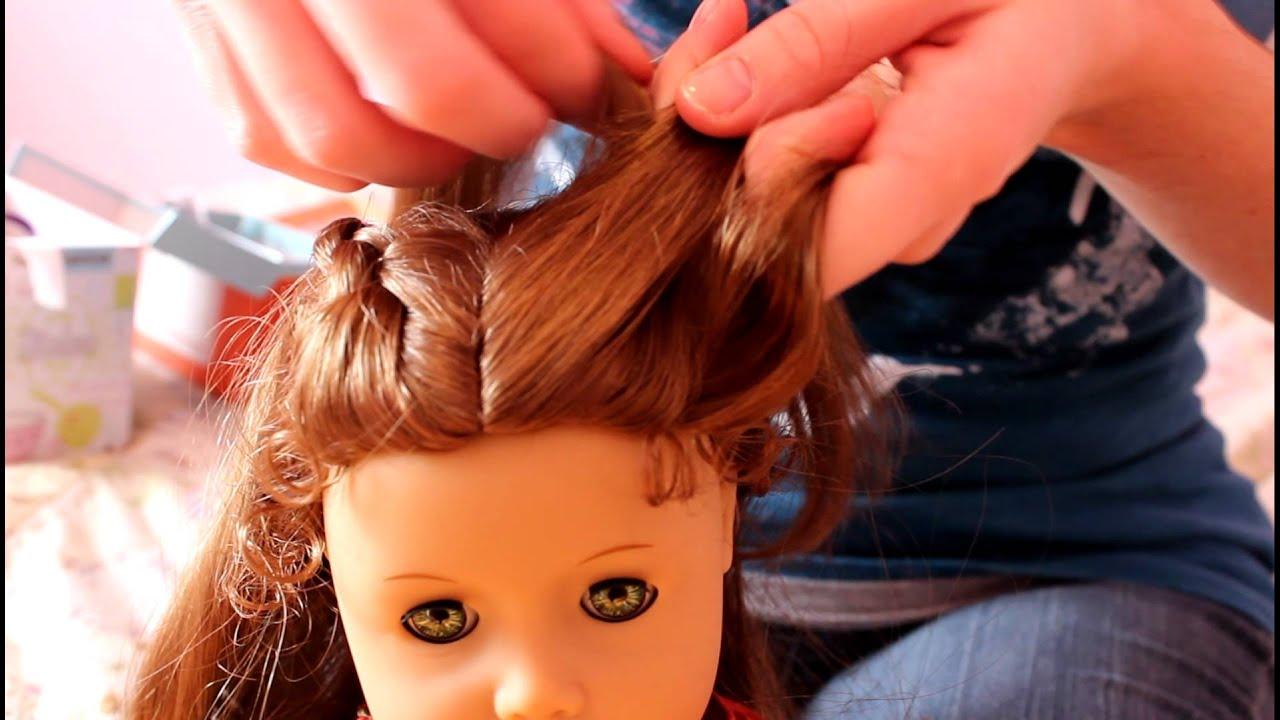 прическа для кукол видео время нашего веселья