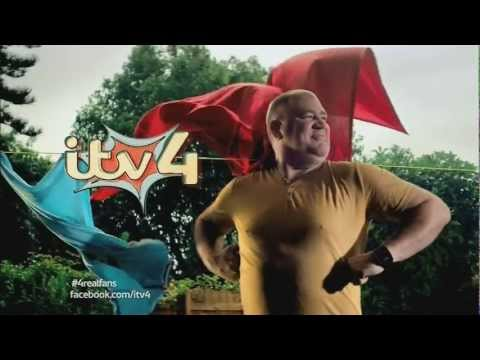 ITV4 Laundryman ident -- January 2013 Rebrand