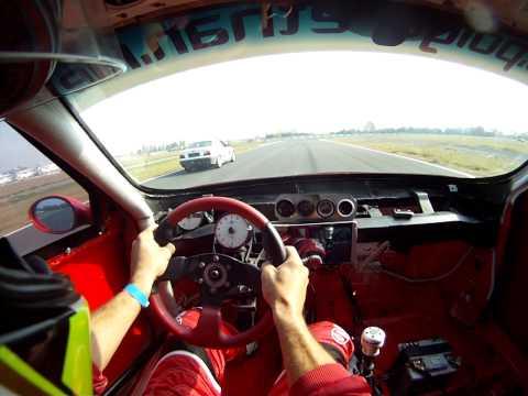 Mid-engined RWD Alfa Romeo 156 - Serres Racing Experience 01.11.13 - Laps 1.27.27