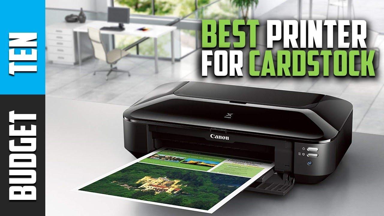 Best Printer For Cardstock 2019