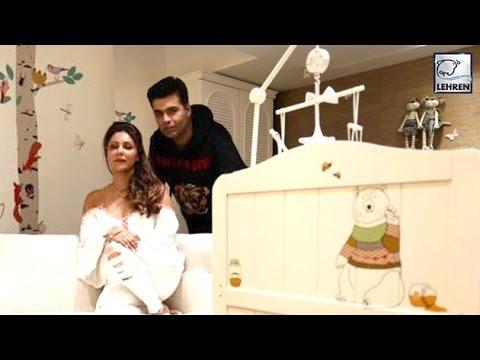 Karan Johar REVEALS Twins Yash & Roohi's Nursery Look   LehrenTV