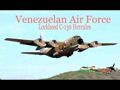 Venezuelan Air Force C-130 Hercules runway 25 departure @ St. Kitts !!!!