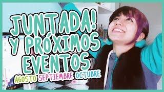 JUNTADA Y PROXIMOS EVENTOS (Buenos Aires, Rosario, San Nicolás)