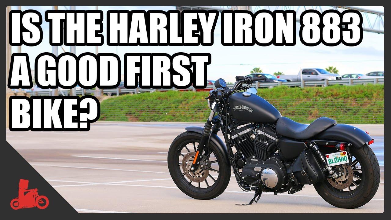 Is The Harley Sportster Iron 883 A Good Starter Bike Youtube