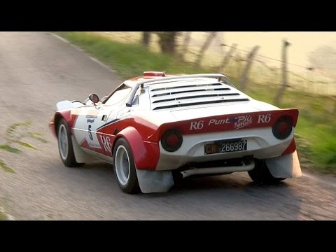 Lancia Stratos HF Group 4 - Ferrari V6 Engine Sound