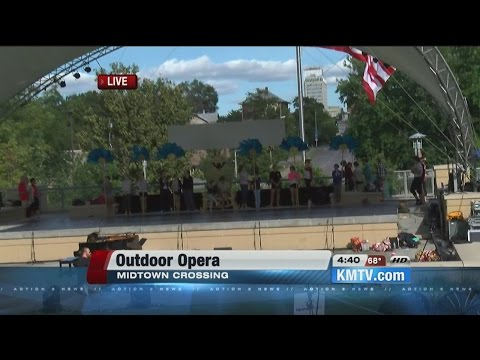 Opera Omaha brings the show outdoors