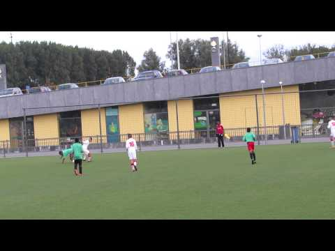Lorenzo Van Slimming | Zeeburgia C1 Scoort Tegen Zuidoost United 14-08-2013