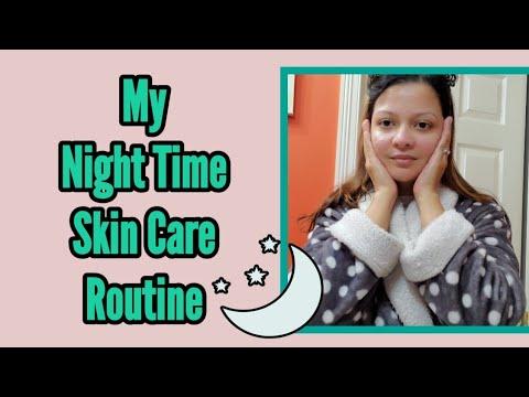 আমার রাতের স্কিন কেয়ার রুটিন My Night Time Skincare Routine Dry Skin Care For Winter Months