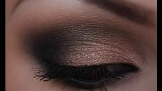 dramatic smokey eye makeup tutorial   cassandra bankson