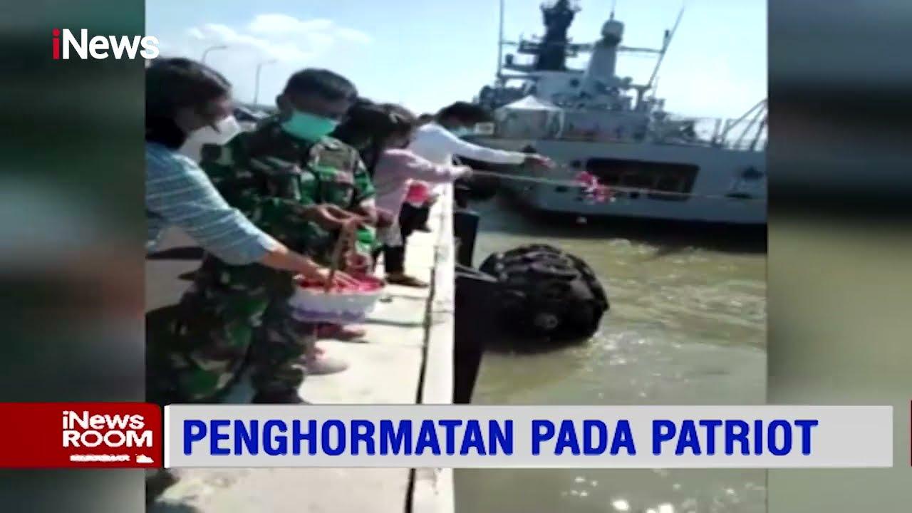 Keluarga Korban Awak KRI Nanggala 402 Gelar Tabur Bunga - iNews Room 27/04