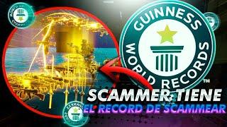 EL MEJOR SCAMMER de EL MUNDO TIENE UN WORLD RECORD GUINNESS de SCAMEAR y ACABA LLORANDO