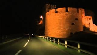Nachtfahrt mit Radio L in die Gitzihöll Malbun - Liechtenstein by night - Nachtleben im Skiparadies