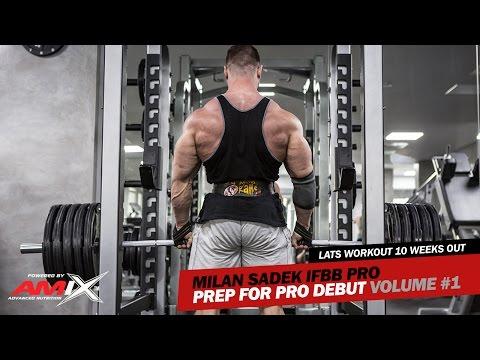Milan Sadek IFBB Pro (Amix Team): Prep for Pro Debut Volume #1