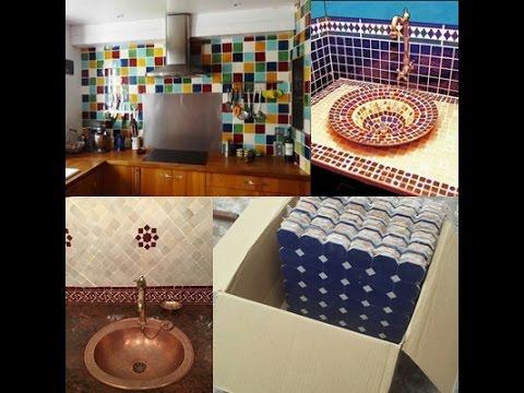 fabrication et vente des lavabo et des vasques en zellige 2018 youtube. Black Bedroom Furniture Sets. Home Design Ideas