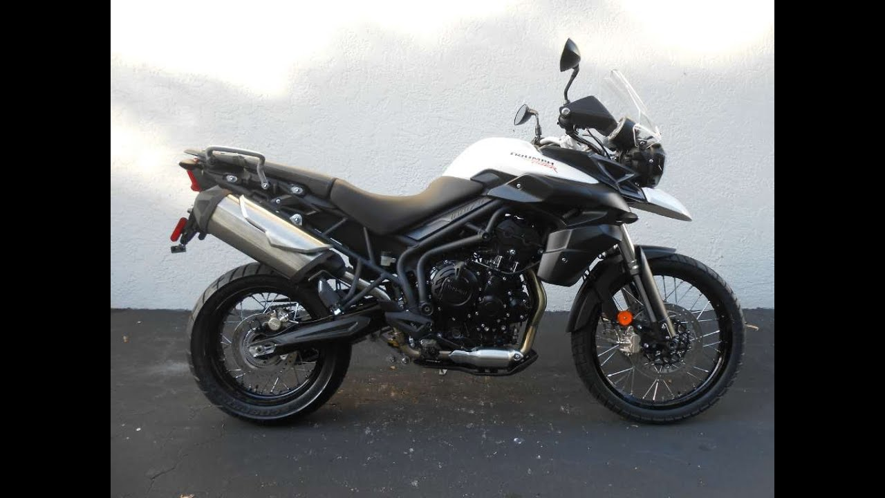 2014 Triumph Tiger 800XC ABS First Ride Video Gulf Coast Motorcycles ...