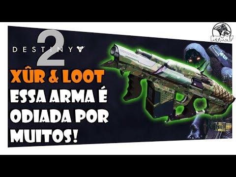 DESTINY 2 - XÛR & LOOT #77 | ESSA ARMA É ODIADA POR MUITOS! thumbnail