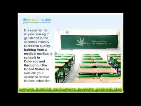 Medical Marijuana Schools in Colorado for Budtenders