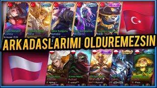 Mobile Legends- ARKADAŞLARIMI ÖLDÜREMEZSİNİZ ULUSAL MAÇ (TÜRKİYE-POLONYA)