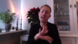 Mads Langer I En Stjerneregn Af Sne. Terped: Klavs Gerdes(Sign Language)