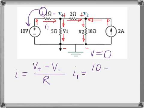 Nodal Analysis introduction and example