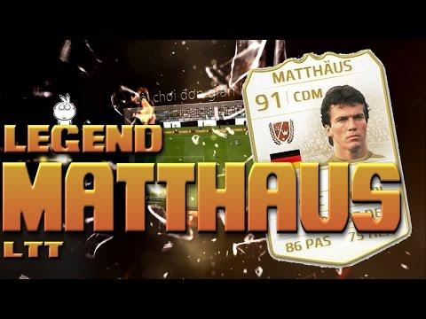 Kênh LTT | Review Lothar Matthaus WL - FIFA Online 3