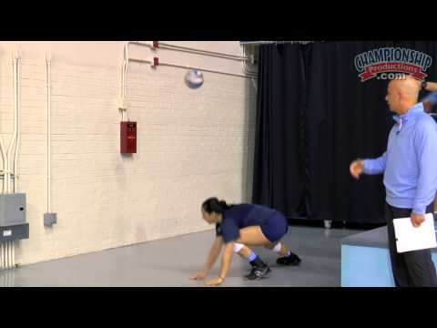 Position Training Drills: Libero