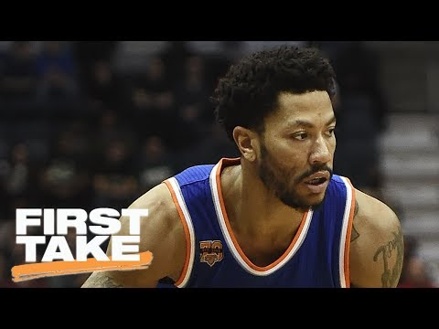 Cavaliers Acquire A Steal In Derrick Rose | First Take | ESPN