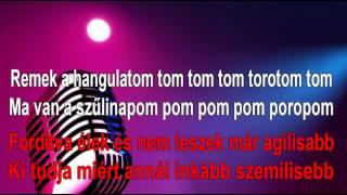 Alma együttes - Ma van a szülinapom (Karaoke)