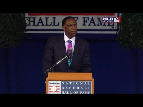 Andre Dawson's Hall Of Fame acceptance Speech