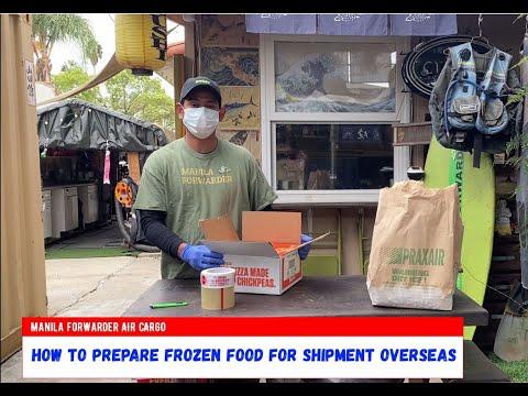 Frozen Shipment, Manila Forwarder Air Cargo