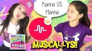 ¡¡ RECOPILACIÓN de nuestros MEJORES MUSICAL.LYS !! 🎶 Karina VS Marina ¿Quién lo hace MEJOR?