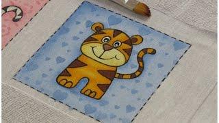 Passo a Passo Completo – Pintando um Tigrinho em Fralda