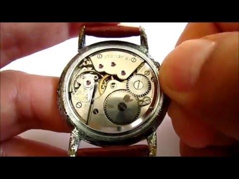 Movado Vintage Wristwatch 1950s Calibre 125