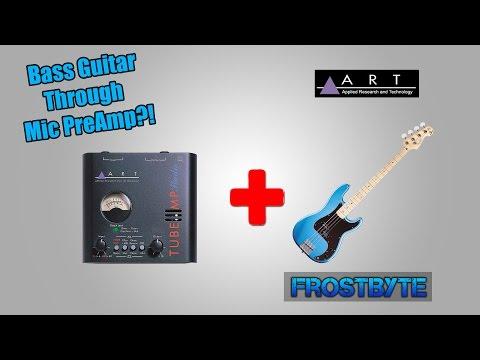 ART Tube MP Studio Mic PreAmp | (Bass Guitar)
