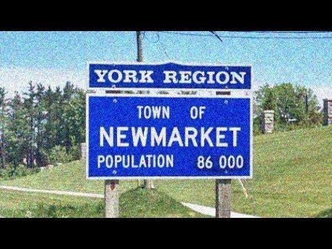 Newmarket, Ontario: Driving Through In November, 2017