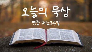 [오늘의 묵상] 코로나 시대의 선교 방법 (가해 연중 제29주일/전교주일)
