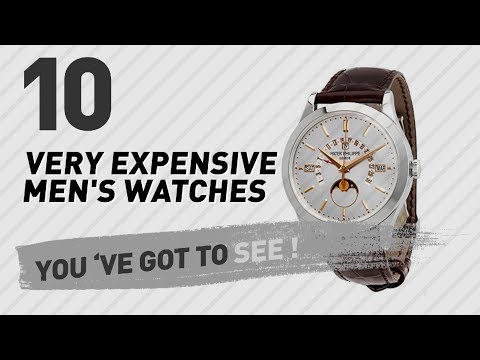 Men's Luxury Watches, You Wish You Had // Most Expensive On Amazon 2017