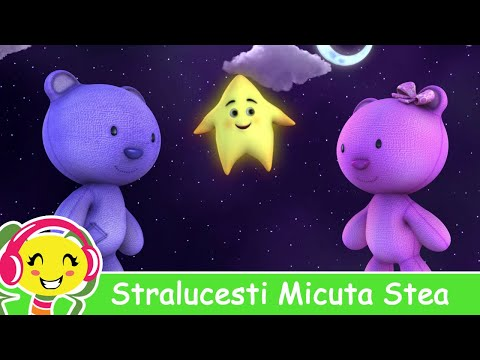 Stralucesti Micuta Stea - Twinkle Twinkle Little Star in Romana