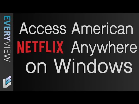 [Doesnt Work] The Free VPN That Works On Netflix On Windows!