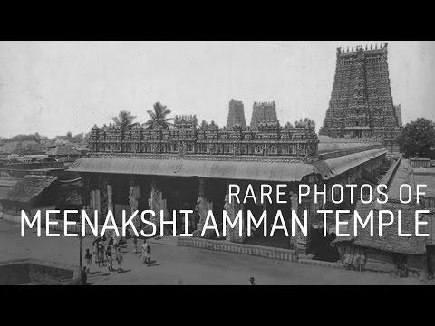 Rare Photos of Meenakshi Amman Temple