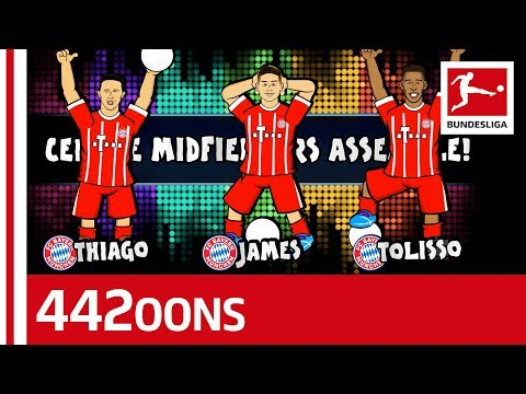 James, thiago or tolisso for central midfield? - world cup dream team rap battle- powered by 442oons