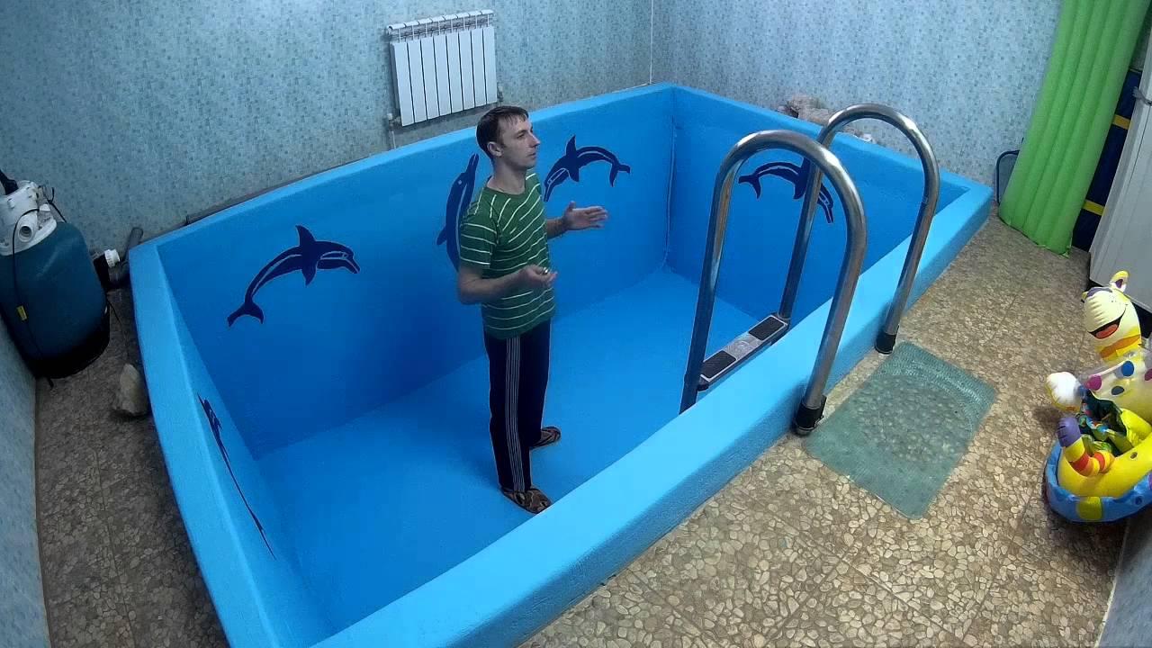 Двум рук смотреть как устанавливают бассейн видео океан анал