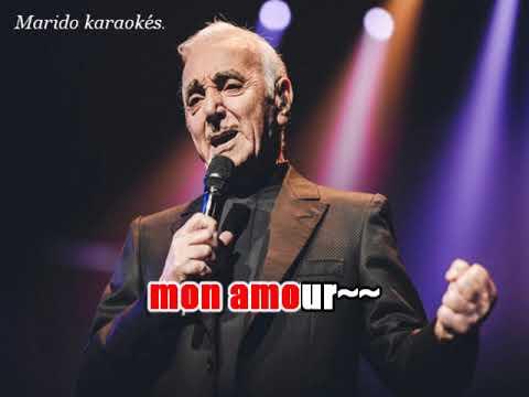 Karaoké Charles Aznavour - Mon émouvant amour   1987